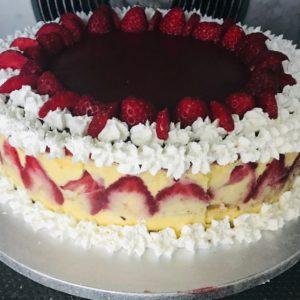Torta fragole gluten free